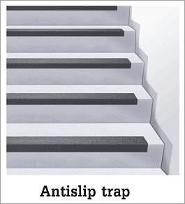 antislip trap